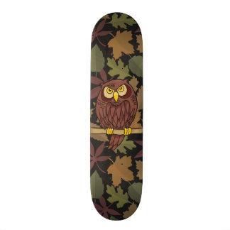 Eulen-Cartoon 18,1 Cm Old School Skateboard Deck