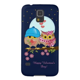 Eulen des blauen Mondes in der Liebe u. im Samsung S5 Hüllen