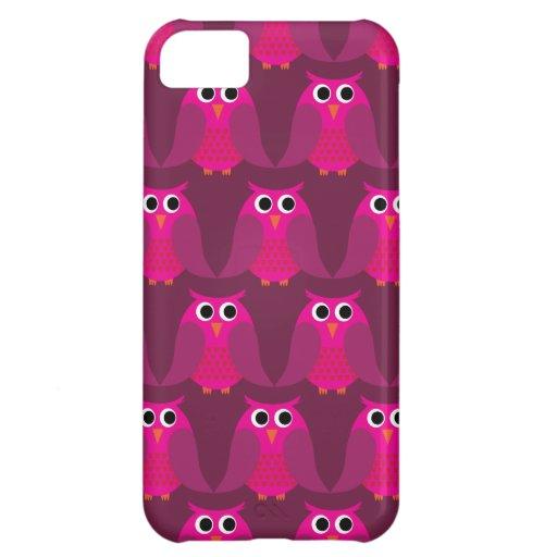 Eulen, Eulen, Eulen! - Rosa iPhone 5C Cover
