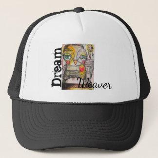 Eulen-Fernlastfahrer-Hut durch Michelle Sylvia Truckerkappe