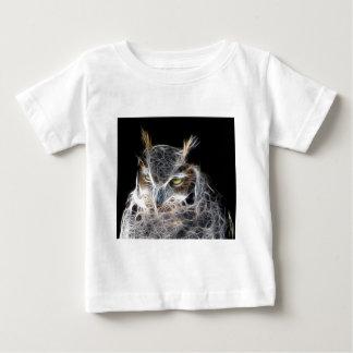 Eulen-Fraktal Design Baby T-shirt