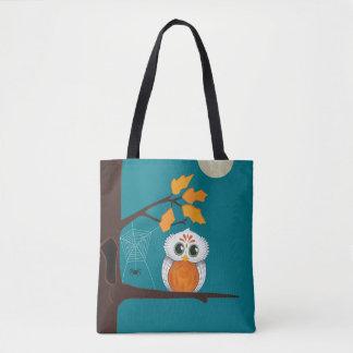 Eulen-Halloween-Tasche Tasche