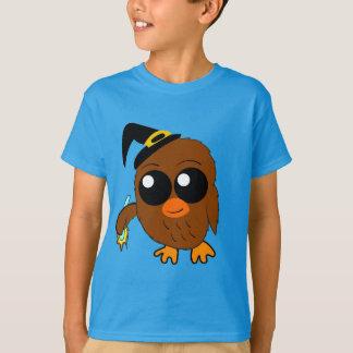 Eulen-Hexe-Halloween-Shirt T-Shirt