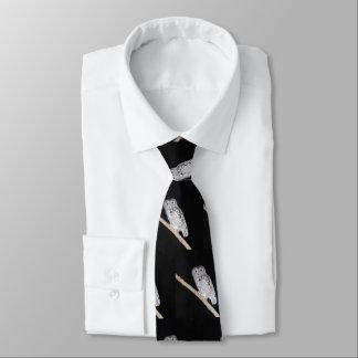 Eulen-Krawatte Bedruckte Krawatte