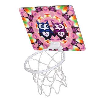 Eulen-Liebe ~ Mini Basketball Ring