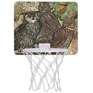 Eulen-Minibasketball-Ziel Mini Basketball Netz