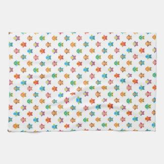 Eulen-Muster-Geschirrtuch Handtuch