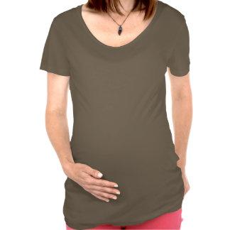 Eulen-Mutterschafts-T - Shirt
