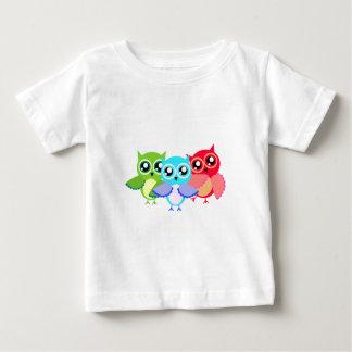 Eulen owls baby t-shirt