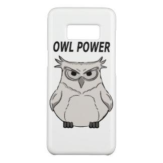 Eulen-Power Case-Mate Samsung Galaxy S8 Hülle