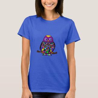 Eulen-Regenbogen T-Shirt