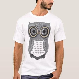 Eulen-T - Shirt-Grau T-Shirt