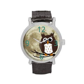 Eulen-Uhr