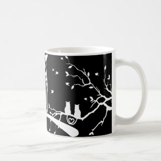 Eulen-und Katzen-Kaffee-Tasse Kaffeetasse