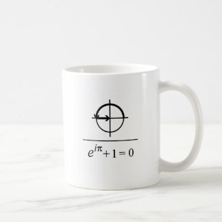 Eulers Identität Kaffeetasse