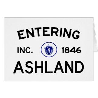 Euntering Ashland Karte