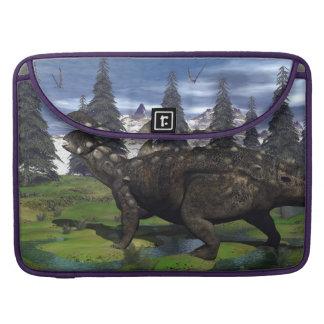 Euoplocephalus Dinosaurier - 3D übertragen Sleeve Für MacBook Pro