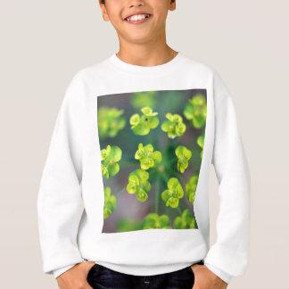 Euphorbiengummi-Blumen Sweatshirt