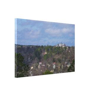 Eureka-Hügel-Seite Leinwanddruck