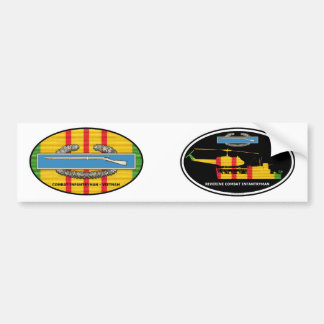 Euro-Ovale Paare Uferinfanterie-Tango-Boot CIB Autoaufkleber