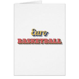 Eurobasketball Karte