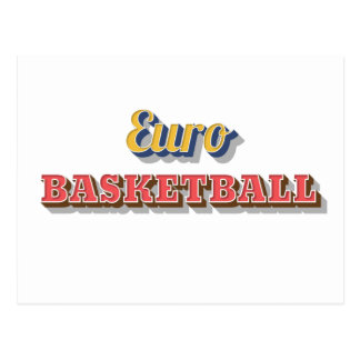 Eurobasketball Postkarte