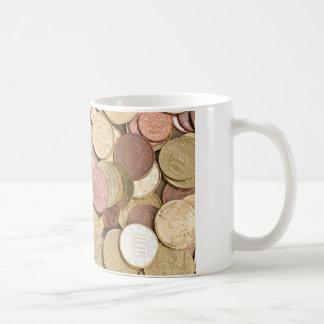 Eurocents Kaffeetasse