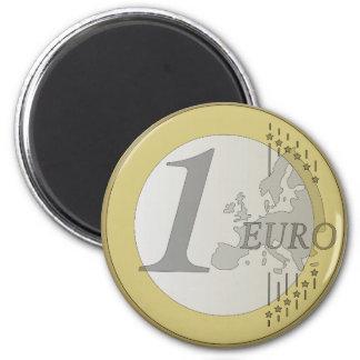 Euromünze Runder Magnet 5,1 Cm