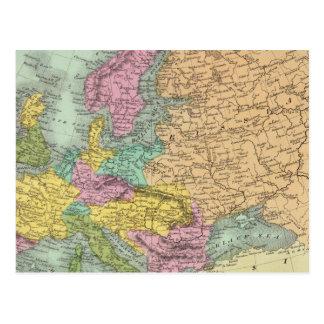 Europa 7 postkarte