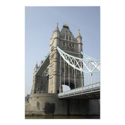 Europa, England, London. Turm-Brücke über den 2 Kunstfotos