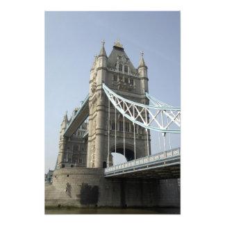 Europa, England, London. Turm-Brücke über den 2 Photodrucke