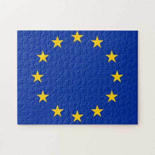 Europa Fahne Puzzle