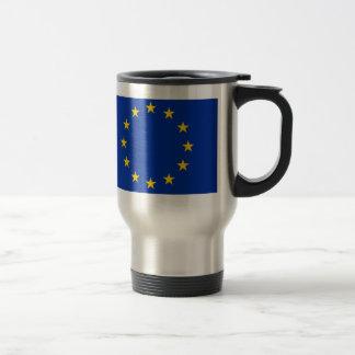 Europa Fahne Reisebecher