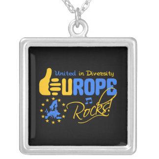 Europa-Felsen! Halskette - wählen Sie Art