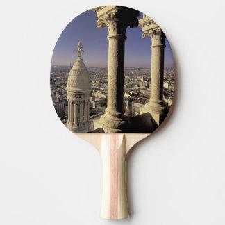 Europa, Frankreich, Paris, Ansicht von Paris durch Tischtennis Schläger