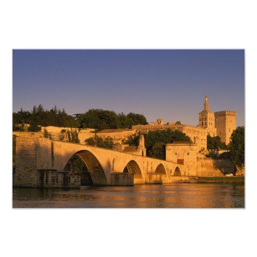 Europa, Frankreich, Provence, Avignon. Palais DES Photo Drucke