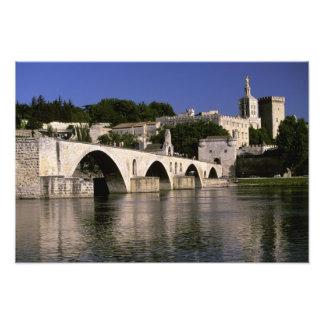 Europa, Frankreich, Provence, Avignon. Palais DES Photo Druck