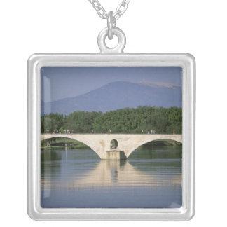 Europa, Frankreich, Provence, Avignon. Pont St., Versilberte Kette