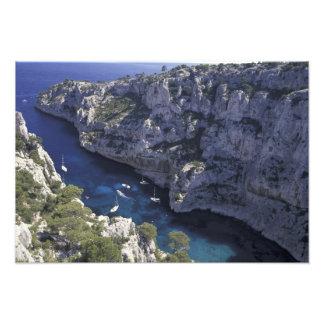 Europa, Frankreich, Provence, Calanques. Kalkstein Photo