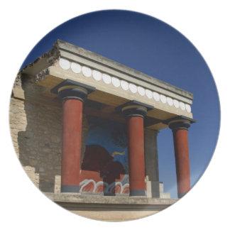 Europa, Griechenland, Kreta (alias Kriti), Iraklio Flacher Teller