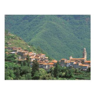 Europa, Italien, Ligurien, Riviera di Ponente, 3 Postkarte