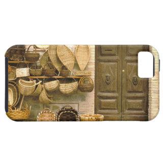Europa, Italien, Toskana, Montalcino. Korb iPhone 5 Hüllen