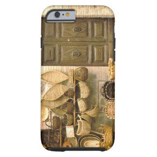 Europa, Italien, Toskana, Montalcino. Korb Tough iPhone 6 Hülle