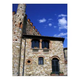 Europa, Italien, Umbrien, Chianti, Montebenichi. Postkarte