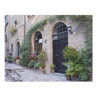 Europa, Italien, Umbrien, Civita, traditionelles Postkarte