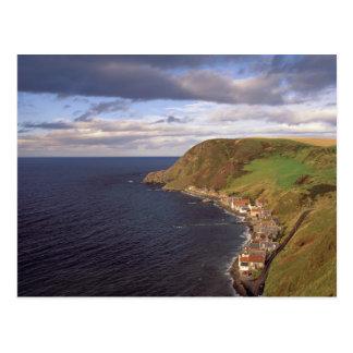 Europa, Schottland, Aberdeen. Obenliegende Ansicht Postkarte