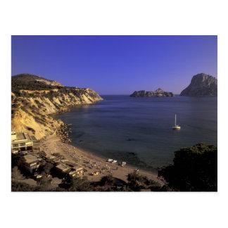 Europa, Spanien, Balearics, Ibiza, Cala d'Hort Postkarte