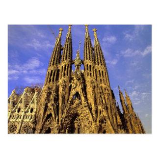 Europa, Spanien, Barcelona, Sagrada Familia Postkarte