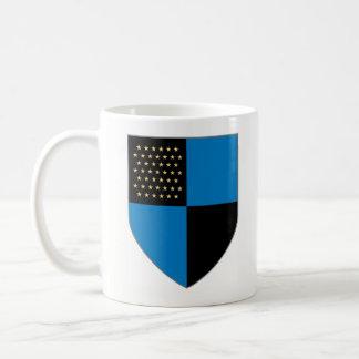 Europa-Tasse - 45 Stern-Schild Kaffeetasse