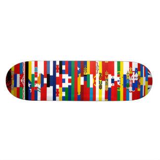 Europäer kennzeichnet Skateboard Bedruckte Skateboarddecks